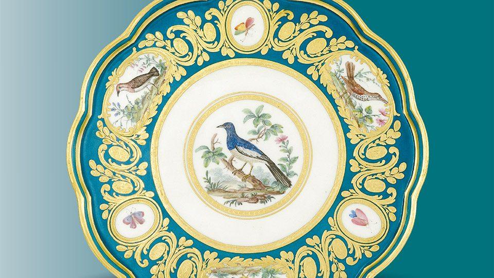 Бифон сервис: Севр порцелан из Белог двора